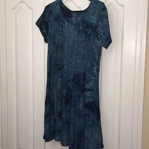 Mermaid Turquoise Sequin Dress